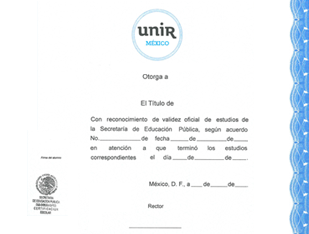 Diploma Licenciatura oficial
